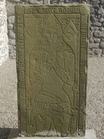 Grave Slab of Gilbert de Greenlaw, Bishop of Aberdeen, slain at the battle of Harlaw in 1411