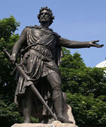 Sir William Wallace, Aberdeen, William Grant Stevenson (1849–1919). Bronze statue, 1888