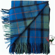 Flower of Scotland Tartan Blanket
