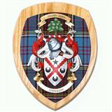 Coat of Arms Clan Wall Plaque - Light