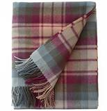 Auld Scotland Fine Lambswool Tartan Throw