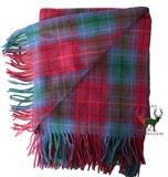 British Columbia Canadian Tartan Throw