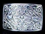 Celtic Beasts Kilt Belt Buckle