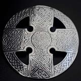 Scots Celtic Cross Brooch