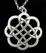 Celtic knot silver pendant scots connection celtic knot silver pendant aloadofball Gallery