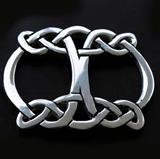 Celtic Knot Small Scarf Ring