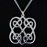 Celtic Lovehearts Pendant