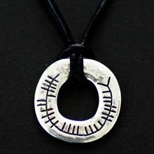 celtic ogham protective talisman amulet pendant scots connection