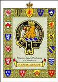 Clan Crest and Motto Certificate