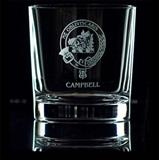 Clan Crest Whisky Tumbler