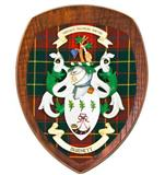 Coat of Arms Clan Wall Plaque - Dark
