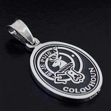 Silver Clan Crest Pendant