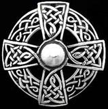 Iona Celtic Cross Brooch