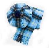Lambswool Tartan Scarf and Hat Set