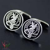 Lindsay Endure Fort Clan Silver Cufflinks