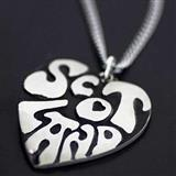 I Heart Scotland Pendant
