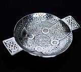 Celtic Cross Interlace Gift Quaich