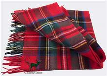 Royal Stewart Lambswool Tartan Throw
