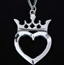 Scottish Luckenbooth Love Pendant