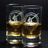 Wilson Clan Shot Glass - Set of Two