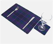 Tartan Tablemats and Coasters - Set of Four