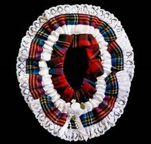 Wedding Garters In Scottish Clan And Family Tartans